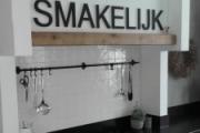 Interieurletters (keuken)