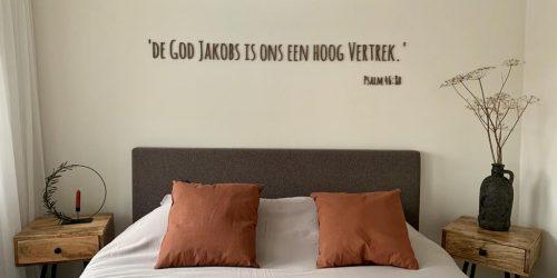 Trouwteksten tekst op muur hout lettertypen wanddecoratie interieur 5