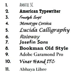 Lettertype trouwtekst (NEW)